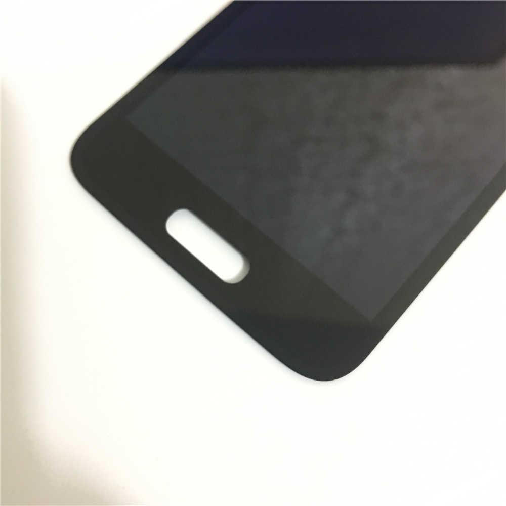 100% nuevo Super AMOLED pantalla LCD para Samsung Galaxy S5 Mini G800F G800A G800HQ G800H pantalla LCD digitalizador de pantalla táctil de la Asamblea