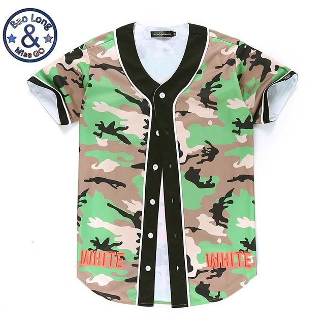 Fashion Hip Hop Men Women Camouflage Virgil Abloh off white T-shirt 3d  Printing lovely Casual Summer Tees Jersey Tops Tshirt a405dd8ff