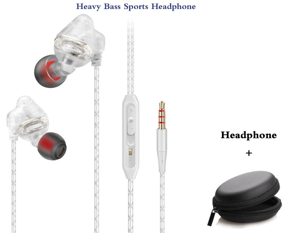 Original HC007 bass earphone sport running headphones music Headset with microphone for iPhone xiaomi huawei samsung phone MP3 стоимость