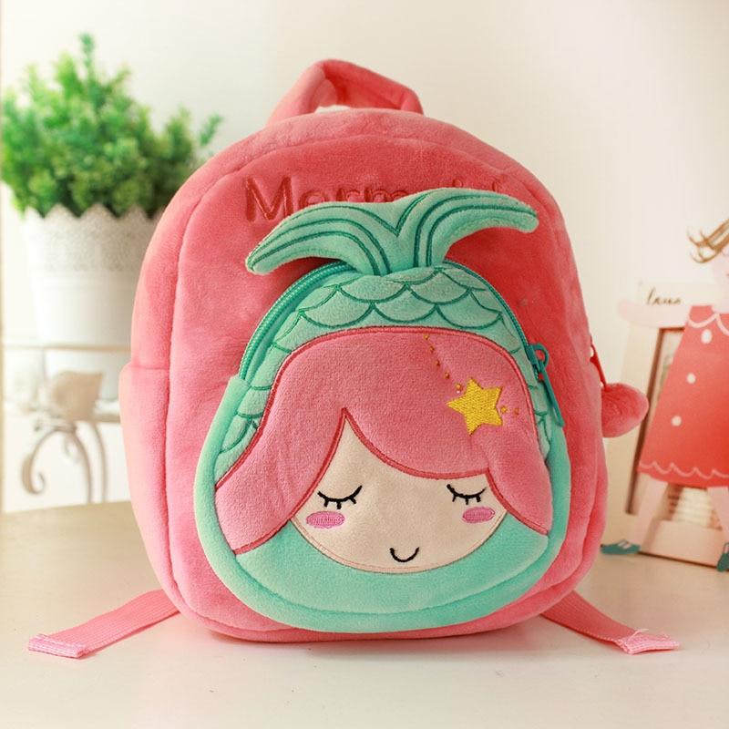 100% Wahr Nette Meerjungfrau Schule Rucksäcke Für Mädchen Kindergarten Kleine Tasche 3d Cartoon Tier Schul Kinder Schule Taschen Mochila Escolar
