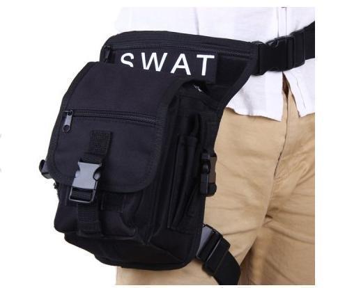 Военная Multi-Layered SWAT Нейлон Ног и Талии сумка