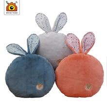 Plush pillow afternoon sleeping cute rabbit ears sofa cushion car waist plush toy