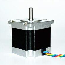 57BYGH56 4-lead Nema 23 Stepper Motor 57 motor 56mm 3A 8mm diameter for CNC Mill Lathe Plasma Router 57mm gearbox geared stepper motor ratio 10 1 nema23 l 56mm 3a cnc router