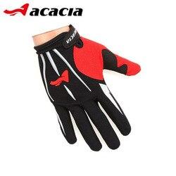 ACACIA mężczyźni pełne rękawiczki rowerowe Motocross Parkour rękawice wyścigi górska droga rękawice rowerowe akcesoria rowerowe 03941 w Rękawiczki rowerowe od Sport i rozrywka na
