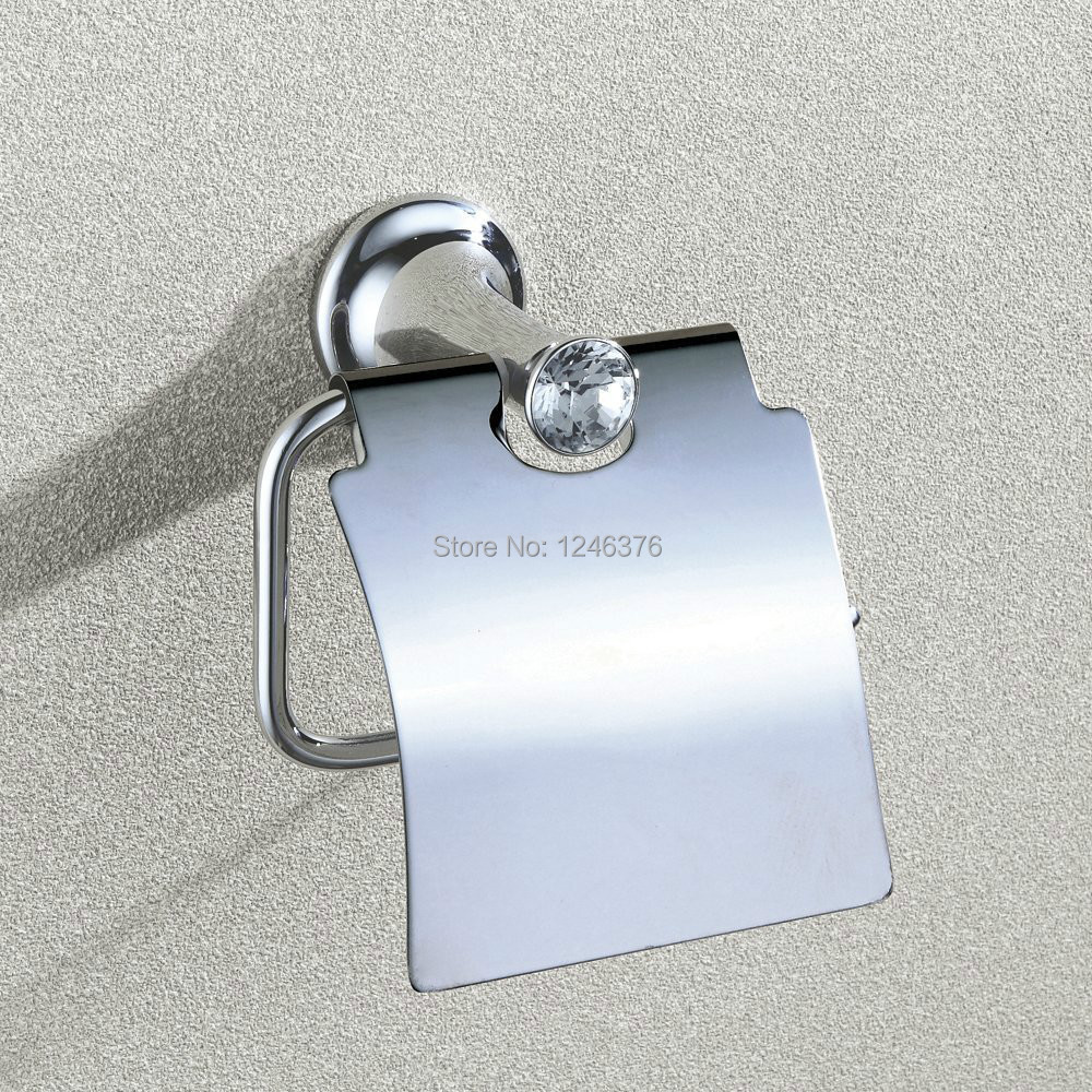 Wall Mount Polished Chrome Paper Holders Toilet Paper Tissue Holder with Cover baudelaire парфюмерная вода