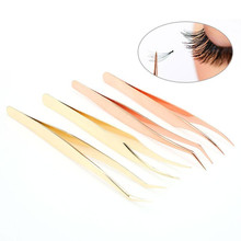Volume Lash Tweezer Golden Feather And Dolphin Tweezers For Eyelash  Extension Lashes Make Up Tools