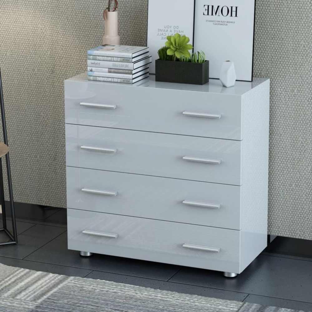 Universal Dresser Cabinet Bedroom Clothes Cupboard Modern Kitchen Sideboard  Four Big Drawer Wooden Cabinet Living Room Furniture