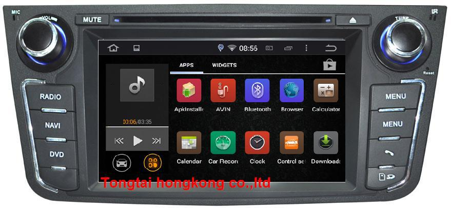 7 Android 4 4 4 for GEELY GX7 car dvd gps navigation 3G Wifi BT 4core