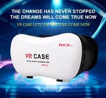 2016ขายร้อน3D VRกรณี5แว่นตาเสมือนจริงภาพยนตร์เกม3dเสมือนจริงสำหรับ3.5-5.7นิ้วโทรศัพท์