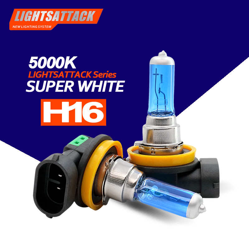 PEGASUS Car Halogen Headlight H16 1500lm Auto Bulb Headlamp 5000K