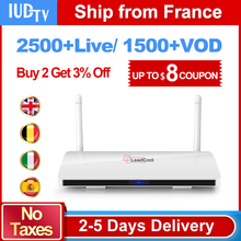 LEADCOOL HD Smart IPTV Android TV Set Top Box 1G/8G with French Portugal IPTV Arabic Europe IUDTV 1700+ Channels 1 Year IPTV STB цена в Москве и Питере