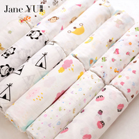 JaneYU 100 Organic Cotton Make For Baby Clothes Saliva Towel Baby Bibs Cloth Diapers Napkin Cloth