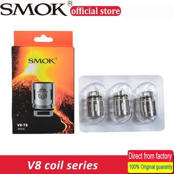 Smok V8 Coil Head V8-T8 V8-T6 V8-Q4 V8-X4 V8 RBA Replacement Coils For TFV8 Cloud Beast Tank 3pcs/lot Electronic Cigarette Atomizer Cores
