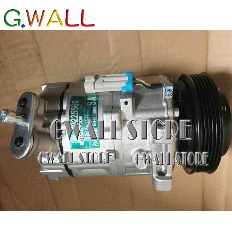 Voiture Auto A/C AC compresseur pour Opel Astra g Cabrio voiture AC compresseur pompe avec embrayage réparation assemblée 24421019