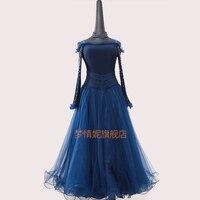 Customize New ballroom dance dress standard ballroom waltz dresses ballroom dance competition dresses custom made LXT1111