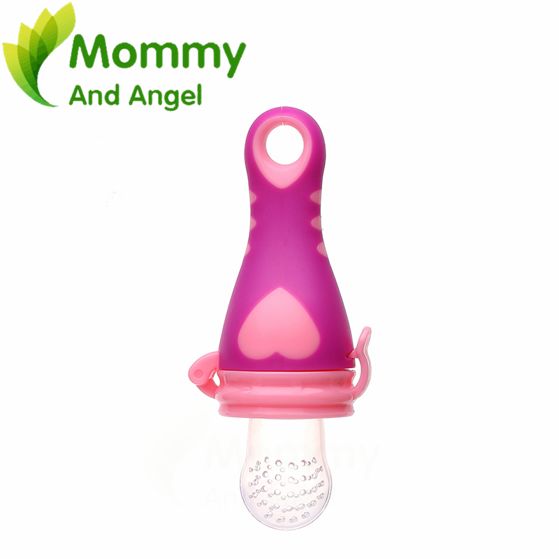 Size:M High Quality Durable Baby Feeding Pacifiers BPA Free non-toxic odorless silicone materials Nipple Newborns Feed Tool 009