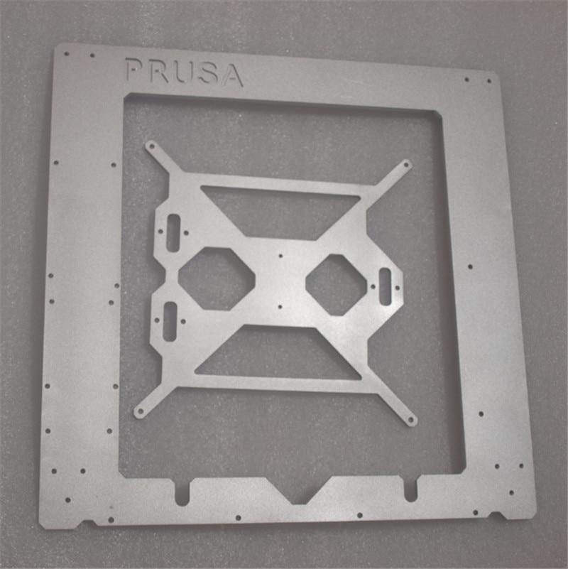 Funssor Reprap Prusa i3 MK2 Clone frame silver color aluminum frame kit 6mm thickness made by CNC geeetech prusa i3 a pro 3d printer all aluminum frame high precision lcd12864 impressora reprap with power control box
