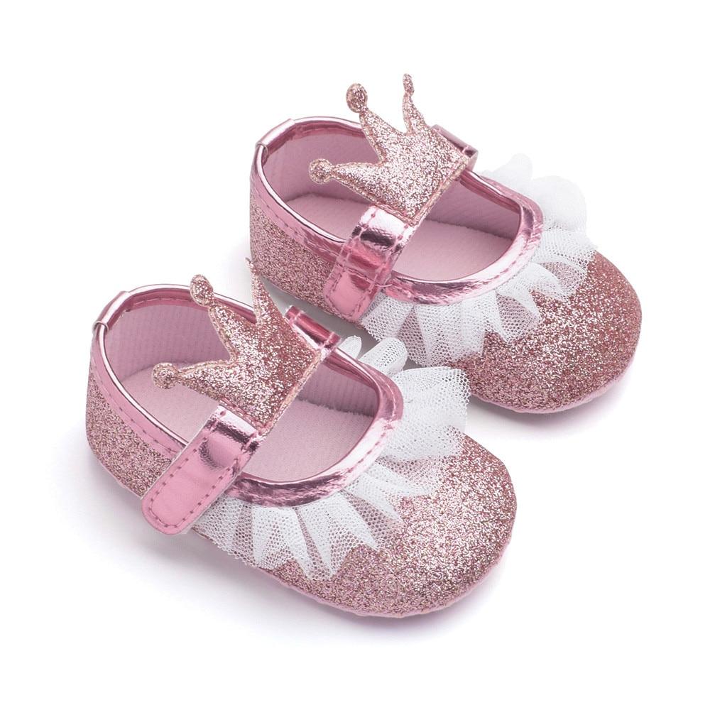 MUQGEW 1 Pair Baby Princess Shoes Cute Baby Girls Newborn ...