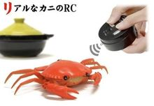 Details about Kani Crab RC Toy – Japanese cuisine radio control animal, Color: Bright Orange