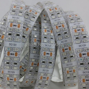 0.5Meters DC12V SMD3528-1200-IR InfraRed 850nm/940nm Single Chip Double Row Flexible LED Strips 240LEDs 19.2W Per Meter