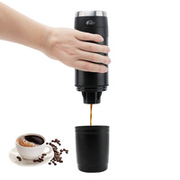240ml Electric Coffee Machine Portable Pressure Espresso Coffee Maker Coffee Filter Using Capsule For Home Office Travel