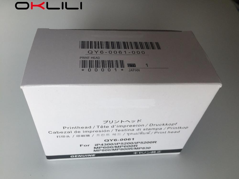 Prix pour D'ORIGINE QY6-0061 QY6-0061-000 Tête D'impression Tête D'impression pour Canon iP4300 iP5200 iP5200R MP600 MP600R MP800 MP800R MP830