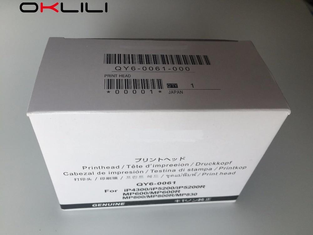 Подробнее о ORIGINAL QY6-0061 QY6-0061-000 Printhead Print Head for Canon iP4300 iP5200 iP5200R MP600 MP600R MP800 MP800R MP830 new qy6 0061 qy6 0061 000 print head printhead for canon mp600r mp800 mp600 mp800r mp830 ip4300 ip5200 ip5200r printer