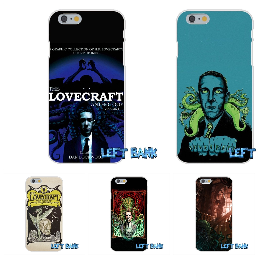 cool lovecraft film festival Soft Silicone TPU Transparent Cover Case For iPhone 4 4S 5 5S 5C SE 6 6S 7 Plus