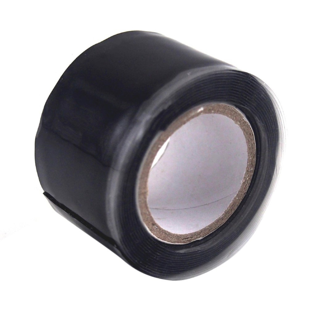3m/1.5m Black Silicone Tape Waterproof Repair Bonding Sealing Tapes Rescue Self Adhesive Fusing Wire Tools Hose Pipe Useful