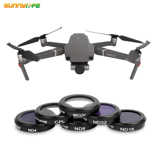 Sunnylife lens for DJI Mavic 2 Zoom Len Filters UV CPL ND 4 8 16 32 Filter for Mavic 2 Zoom Drone Accessories Neutral Filter on AliExpress