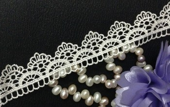 2.8cm wide high quality water soluble embroidery lace trimming,XERY14111