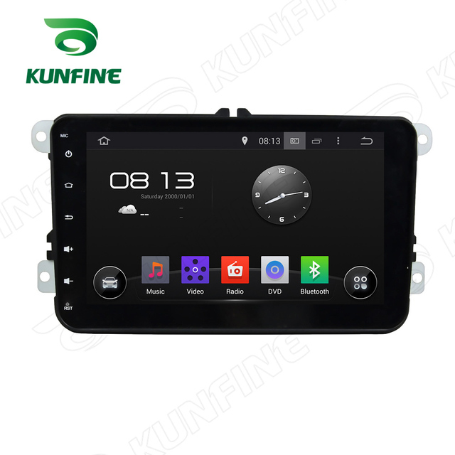 Quad Core1024*600 Android5.1Car DVD GPS Navigation Player for Volkswagen 8VW Deckless Touch button steering wheel control Remote
