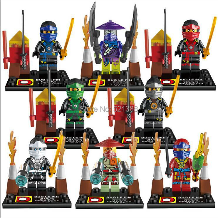 character batman star war ninjago spiderman iron man the avengers chimn pirates caribbean mini8set compatible with lego in blocks from toys hobbies on - Lego Ninjago Pirates