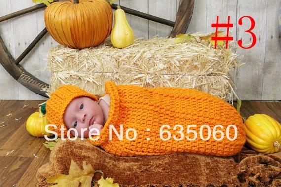 Schöne Baby Häkeln Hut Schlafsack Baby Kokon Kleinkind Santa Kokon