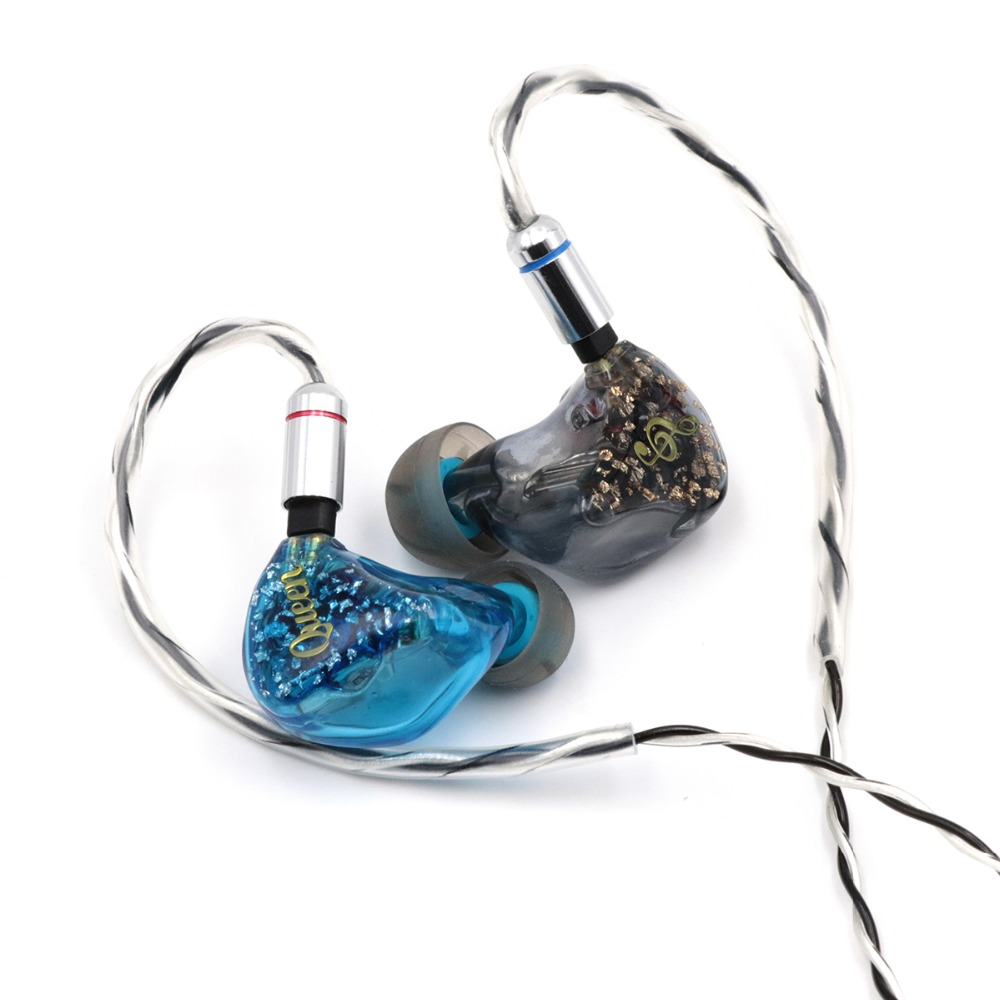 Queen Audio QM50 5BA In Ear Earphones With Knowles Sonion Balanced Armature Drivers 0 78mm 2Pin