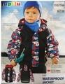 German exports LUPILU Topolino the 3M brand fleece fabric leather coat Free Shipping children raincoat children