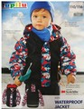 Las exportaciones alemanas LUPILU Topolino los 3 M de la marca de lana abrigo de cuero tela Envío Gratis niños niños impermeable