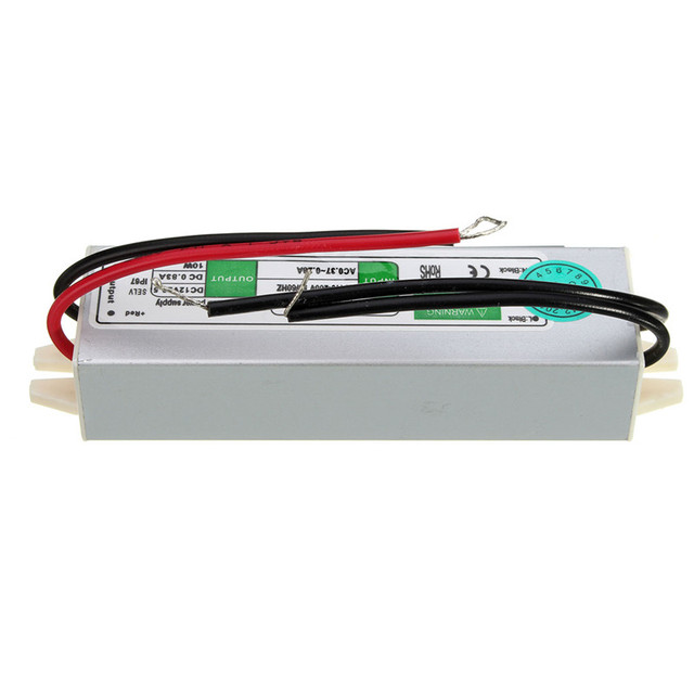 waterproof power supply 12v 10w led transformers ip67 adapter driver