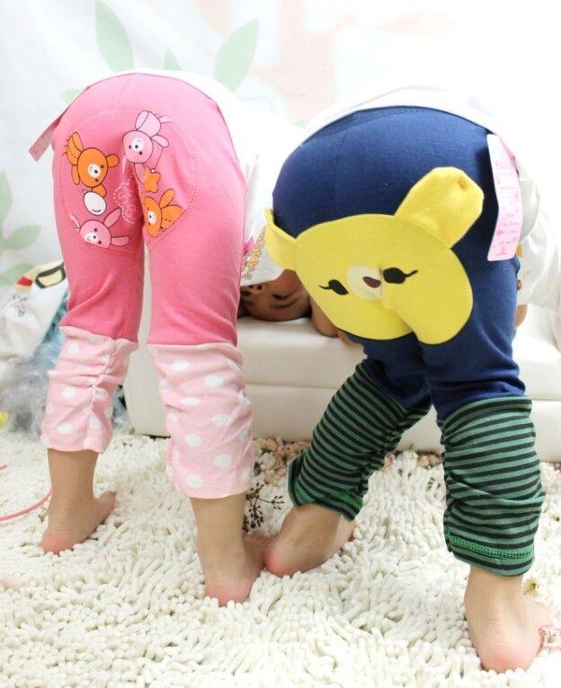 Fall-Kids-Toddler-Boy-Girl-Baby-Leggings-Big-PP-harem-Pants-busha-Cotton-Trousers-animal-bear-cartoon-pant-for-children-Infant-3