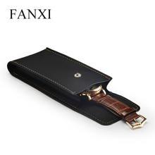 4 шт/лот черный кожаный мешочек для ювелирных изделий сумка