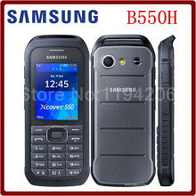 Original Unlocked Samsung B550H Dual Core 2.4 Inches 2MP Camera WCDMA Bluetooth 1500mAh Mobile Phone Free Shipping