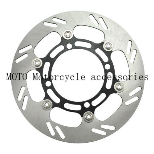 Motorcycle Front Brake Disc Rotor For KX125 03 04 05 KLX250 98-01 02 03-06 KX250 2003 04 05 RM-Z250 04-06 KLX 250 RMZ250 bikingboy front brake disc rotor for hyosung gt 125 gt125 r naked 01 02 03 04 05 06 07 08 09 10 11 gt 250 gt250 comet 2003 2008