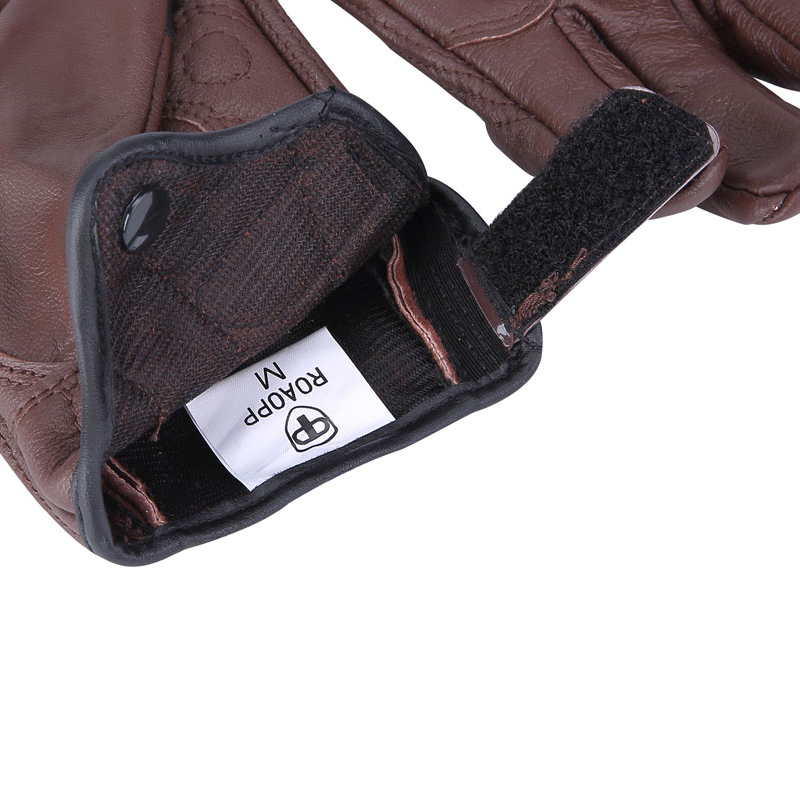 Image 4 - Nordson Retro Motorcycle Gloves Men Leather Waterproof Summer Touch Screen Motocross Gloves Full Finger Motorbike Moto gloves-in Gloves from Automobiles & Motorcycles