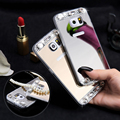 S6 Edge S7 Edge Glitter Mirror Crystal Case For Samsung Galaxy S6 Edge S7 S7 Edge J5 J7 A3 A5 A7 2016 Ultra Bling Diamond Cover