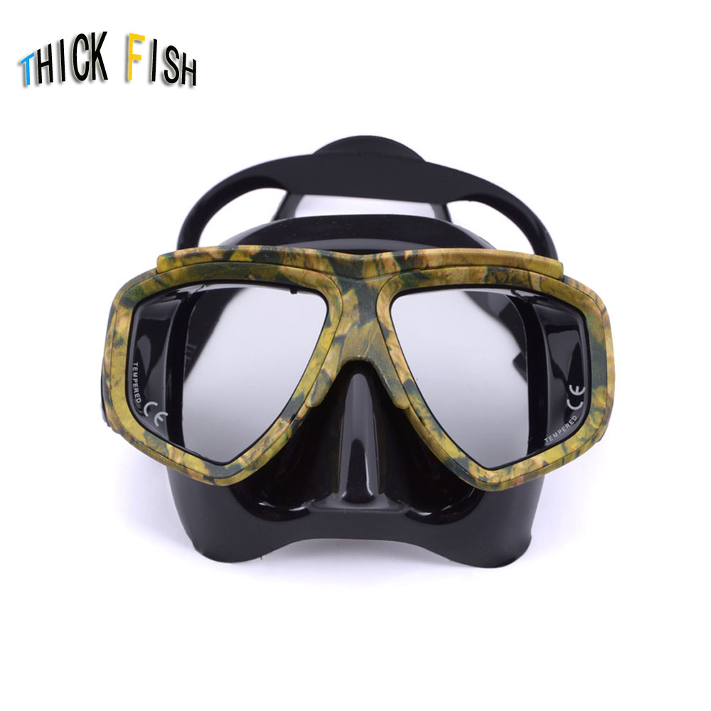 Professional Myopia Scuba Diving Mask Anti Fog For Spearfishing Gear Swimming Masks Googles Nearsighted Lenses Short-sighted