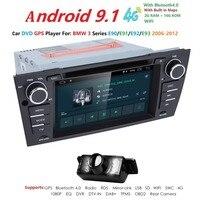 Android 9 для bmw E90 E91 E92 E93 3 серии Автомобильная dvd навигационная система Wi Fi радио рулевое колесо bluetooth Canbus встроенный микрофон и Карта