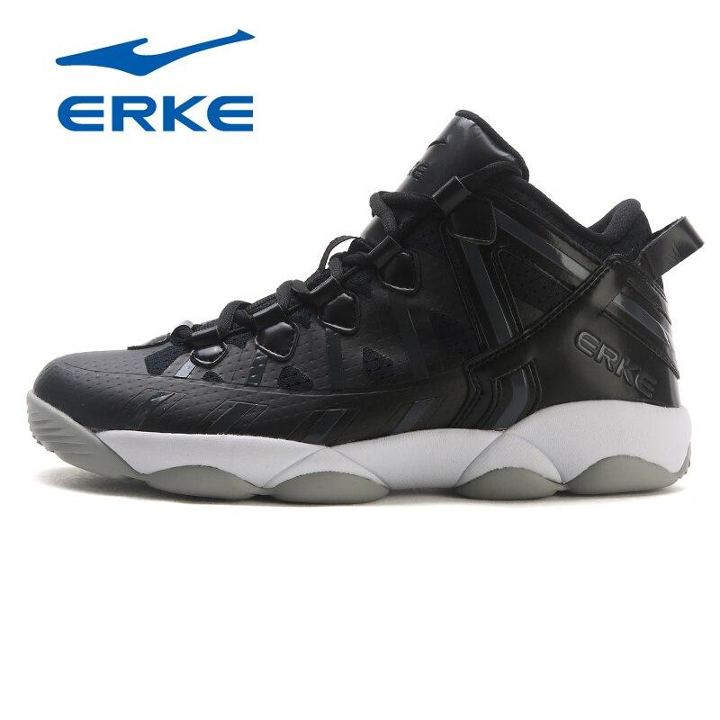 Erke women's sneakers new in the anti-skid boots shock absorption wear women's basketball shoes free shipping