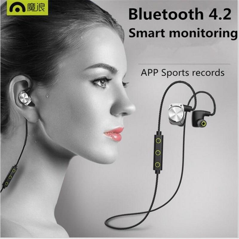 Mifo U6 Wireless Headphone Sport Headset Bluetooth 4.2 Earphone IPX6 Waterproof HiFi Stereo With mic For Phone