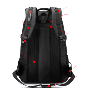 Image 4 - 60L unisex men waterproof backpack travel pack sports bag pack Outdoor Mountaineering Hiking Climbing Camping backpack for male