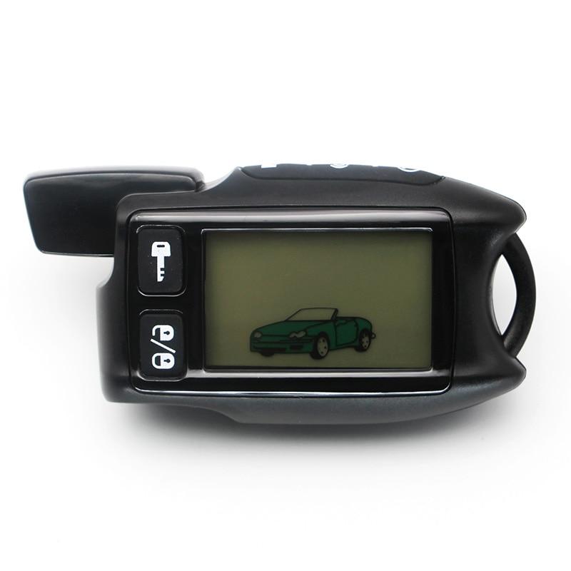 Controle remoto LCD para Tomahawk 9.5 Tomahawk TW9.5 9.9 em dois sentidos do sistema de alarme de carro frete grátis